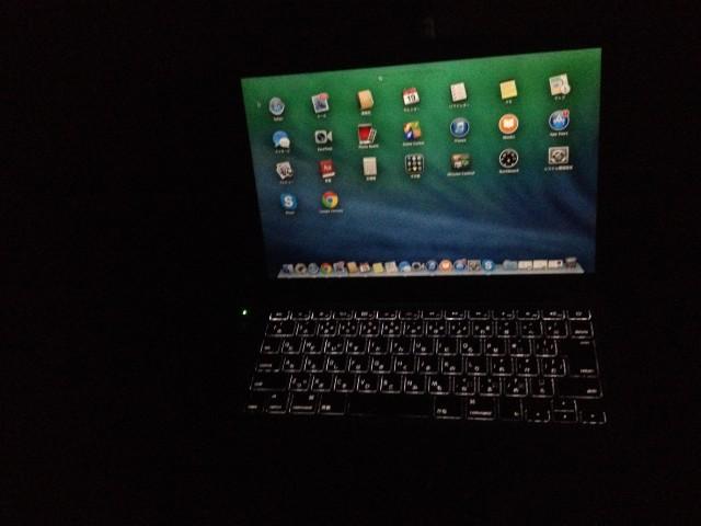 Macのバックライト